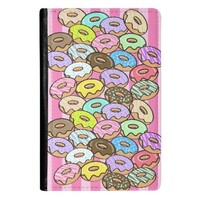 Donuts Party Passport Holder