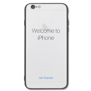 Iphone start screen iPhone 6/6s Plus Transparent Slim Case