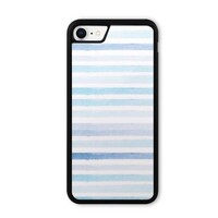 blue stripes iPhone 8 Bumper Case