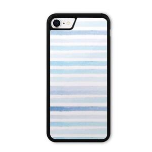 blue stripes iPhone 8 Bumper Case
