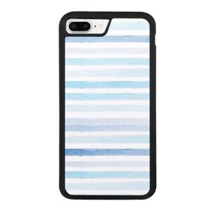 blue stripes iPhone 8 Plus Bumper Case