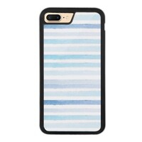 blue stripes iPhone 7 Plus Bumper Case