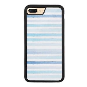 blue stripes iPhone 7 Plus Bumper Case