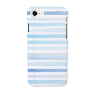 blue stripes iPhone 8 Glossy Case