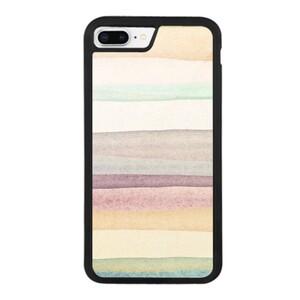 warm stripes iPhone 8 Plus Bumper Case