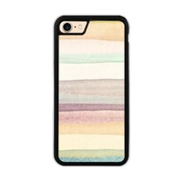 warm stripes iPhone 7 Bumper Case