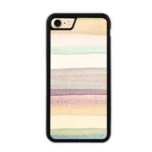 warm stripes iPhone 7 Bumper Case