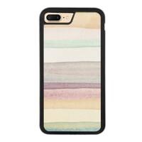 warm stripes iPhone 7 Plus Bumper Case