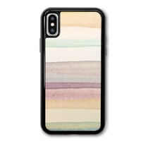 warm stripes iPhone X TPU Dual Layer  Bumper Case
