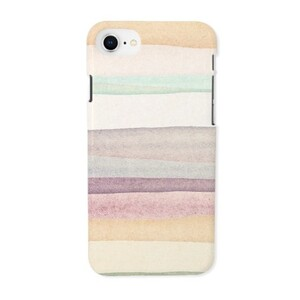 warm stripes iPhone 8 Glossy Case