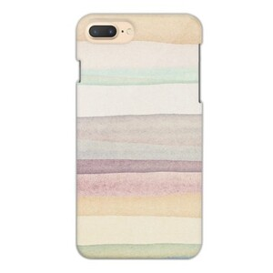 warm stripes iPhone 7 Plus Glossy Case