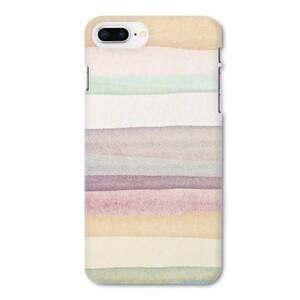 warm stripes iPhone 8 Plus Matte Case