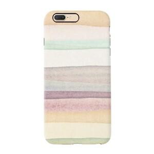 warm stripes iPhone 7 Plus TPU Dual Layer Protective Case