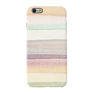 warm stripes iPhone 6/6s TPU Dual Layer Protective Case