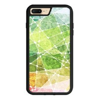 summer color puzzles iPhone 7 Plus TPU Dual Layer  Bumper Case