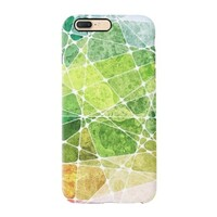 summer color puzzles iPhone 7 Plus TPU Dual Layer Protective Case