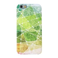summer color puzzles iPhone 6/6s TPU Dual Layer Protective Case