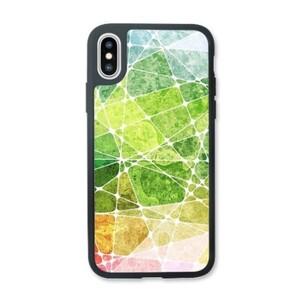 summer color puzzles iPhone X Transparent Slim Case