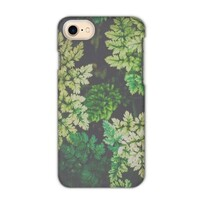 deep summer leaves iPhone 7 Matte Case