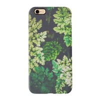 deep summer leaves iPhone 7 TPU Dual Layer Protective Case