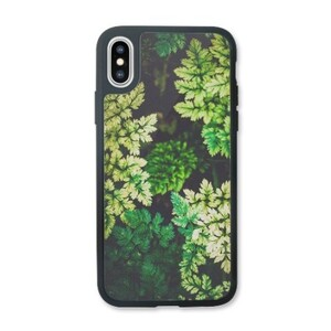deep summer leaves iPhone X Transparent Slim Case