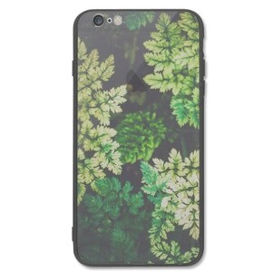 deep summer leaves iPhone 6/6s Plus Transparent Slim Case