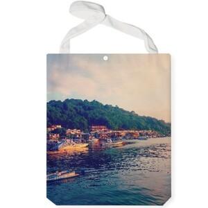 Village Beauty Jumbo Tote Bag