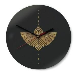 Round Glass Wall Clock (Gloss Surface)