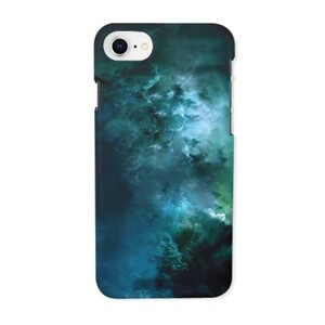 galaxy iPhone 8 Glossy Case
