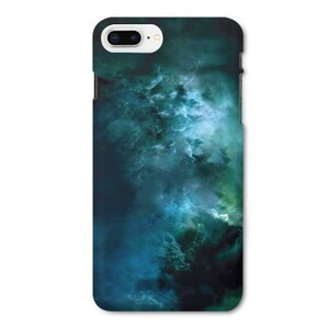 galaxy iPhone 8 Plus Glossy Case
