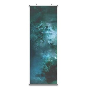 galaxy Fabric Wall Scroll Poster 18