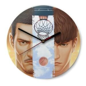 玻璃圓形掛牆鐘(光澤表面)