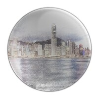 SketchHongKong_Victoria Harbour Paperweight