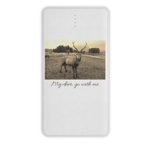 Animal with me - 10000mah Power Bank (Deer)