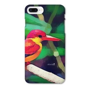 三趾翠鳥 iPhone 8 Plus Glossy Case