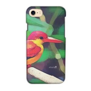 三趾翠鳥 iPhone 7 Glossy Case