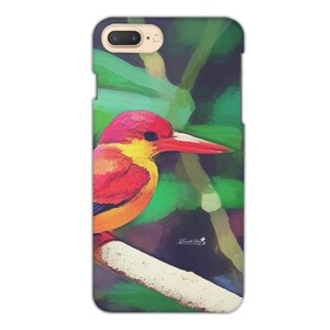 三趾翠鳥 iPhone 7 Plus Glossy Case