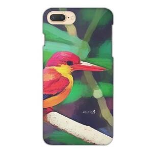 三趾翠鳥 iPhone 7 Plus Glossy Case