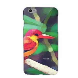 三趾翠鳥 iPhone 6/6s Glossy Case
