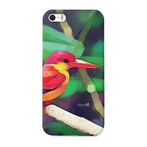三趾翠鳥 iPhone 5/5s Glossy Case