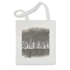 SketchHongKong_Victoria Harbour Tote Bag