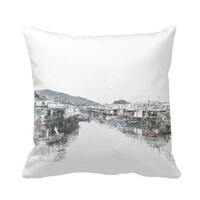 SketchHongKong_Tai O Pillow 16