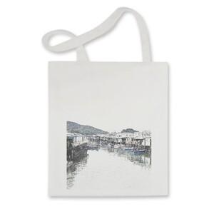 SketchHongKong_Tai O Tote Bag