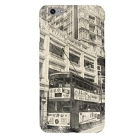 SketchHongKong_Wan Chai iPhone 6/6s Plus Glossy Case