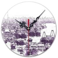 SketchHongKong_Aberdeen Round Wall Clock