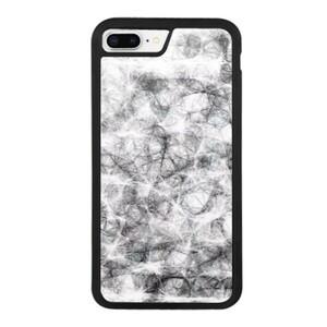 black and white iPhone 8 Plus Bumper Case
