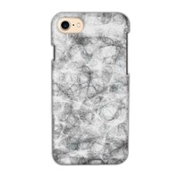 black and white iPhone 7 Glossy Case