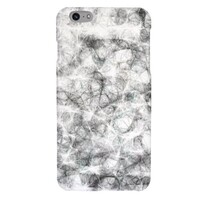 black and white iPhone 6/6s Plus Glossy Case