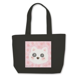 Mini Tote Bag x Pink Cat