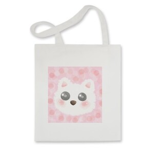 Tote Bag x Pink Cat